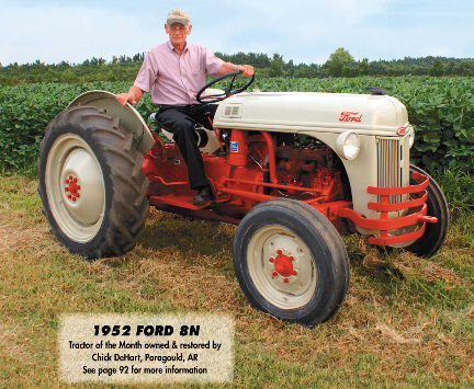 1953 Ford 8N - Tractor - 1953 Ford 8N
