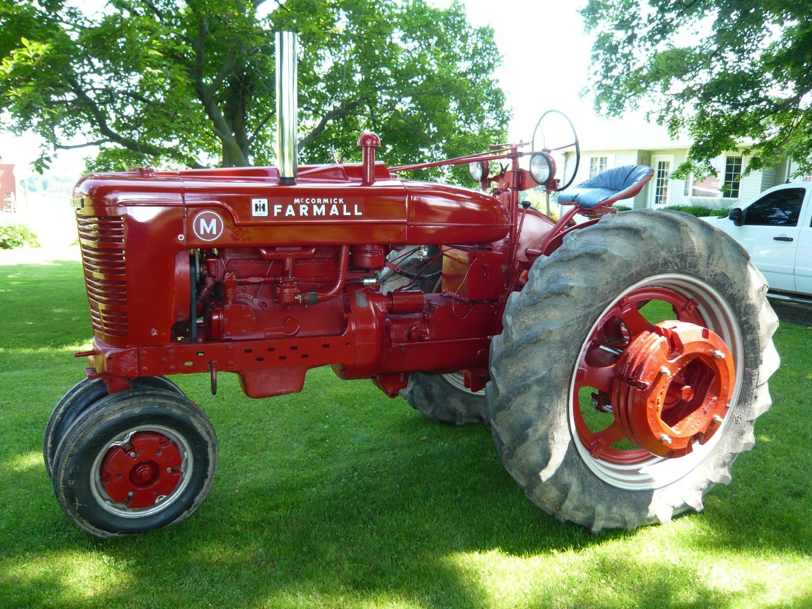 Check out this 1948 farmall m owned by adam blonde litchfield