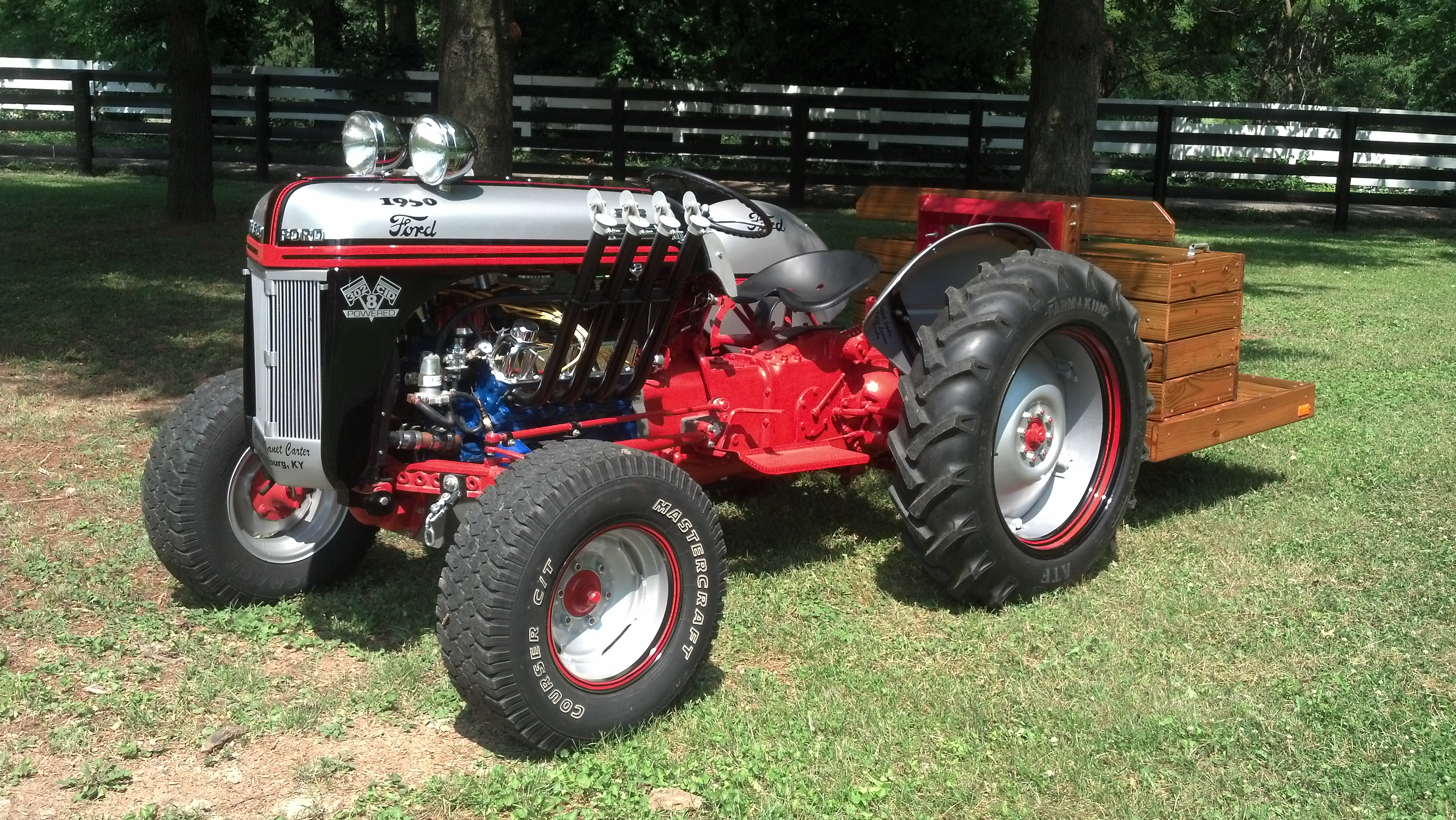 Smith Ford Tractors : N ford funk tractor