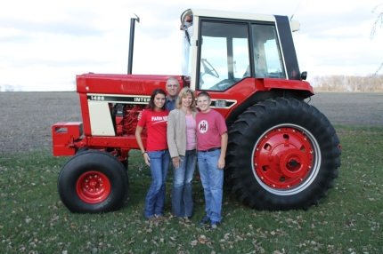 Restored International Harvester 1486