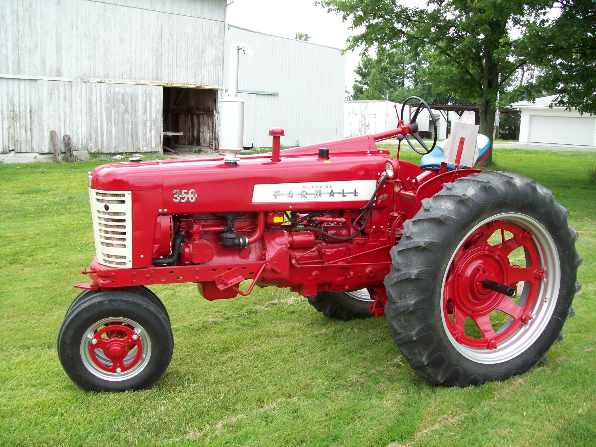 Farm All Tractor : Tractor talk farmall fastline front page