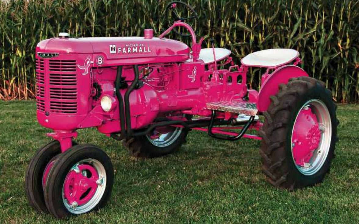 Pink John Deere Tractor Logo This pink beauty is owned andPink John Deere Tractor