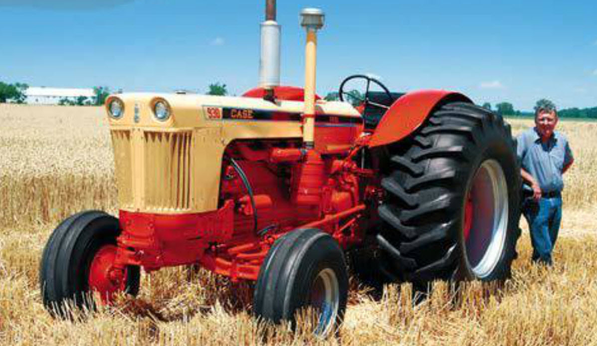 1960 Case Backhoe : Tractors the perfect sidekick for our veterans fastline