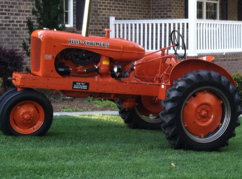 Wc Case Tractor : Allis chalmers fastline front page